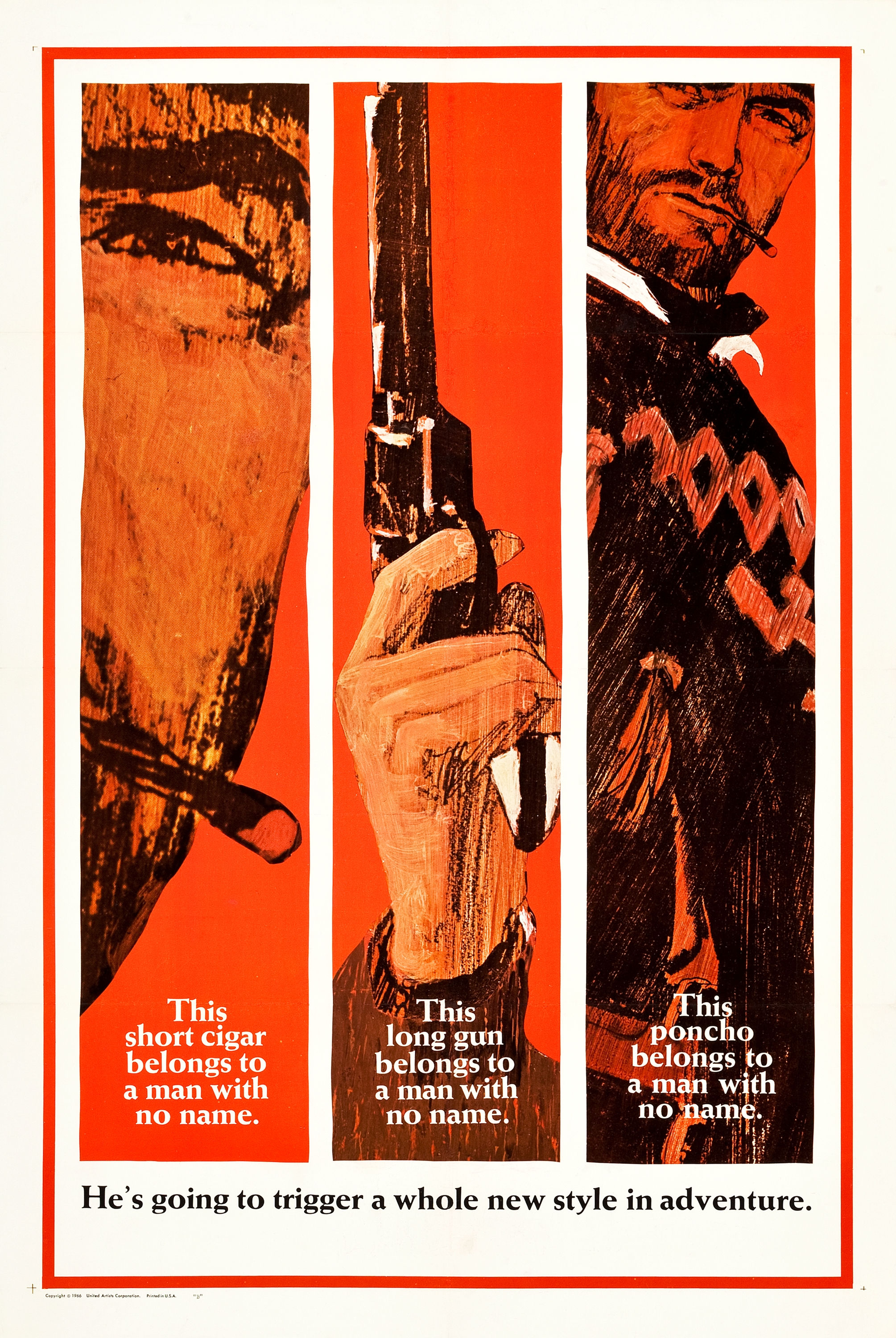 Movie Poster Checklist - Fistful of Dollars (1964) — The ...